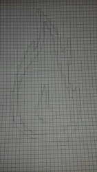Pixel art 1 : La flamme - etape crayon by CrazychanAreea