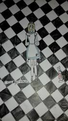 Fanart: Alice au pays des merveilles by CrazychanAreea