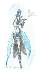 [Vocaloid] Alys - Fanart 3 by CrazychanAreea