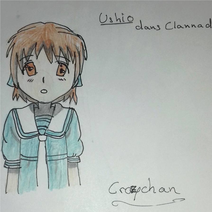 Fanart Clannad - Ushio by CrazychanAreea