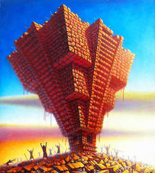 Pyramid by mihalyo