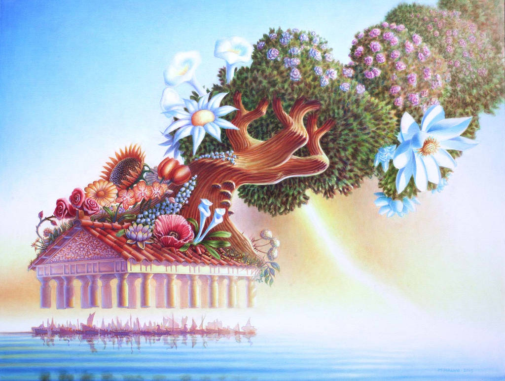 Flower Temple M2 by mihalyo