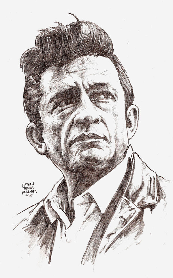 Johnny Cash Vector JOHNNY CASH in 30 mins by
