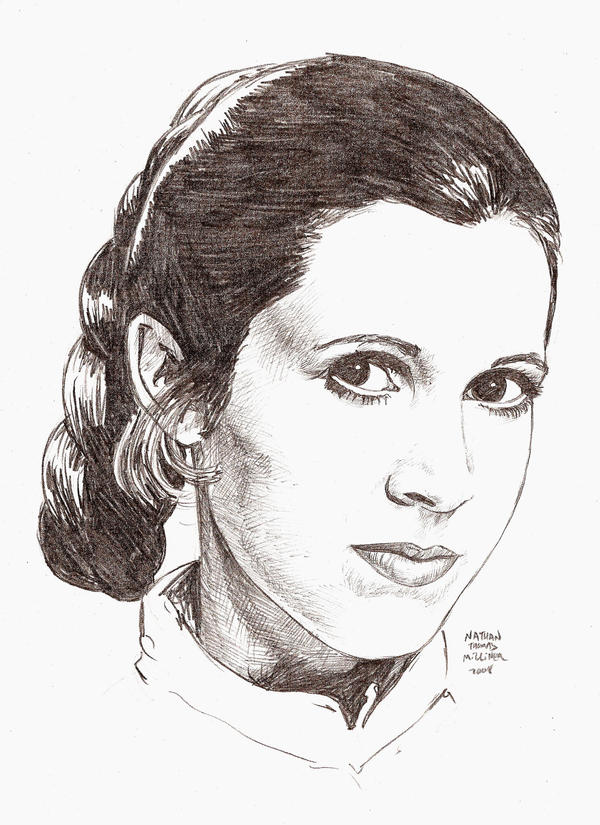 CARRIE FISHER in 35 mins by MalevolentNate