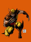 OLD SCHOOL WOLVERINE