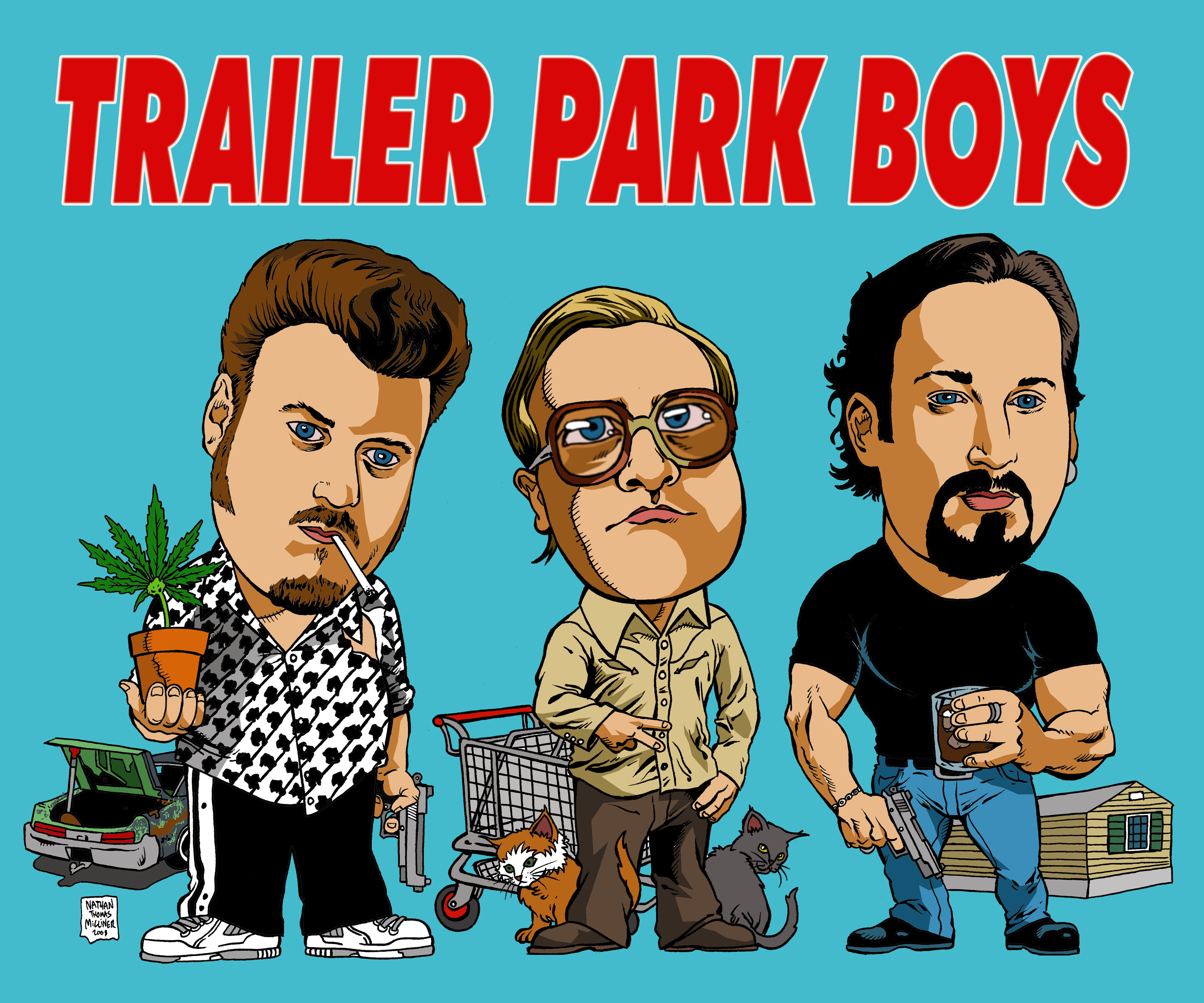 An amazing wallpaper trailerparkboys - Amazing wallpapers for boys ...