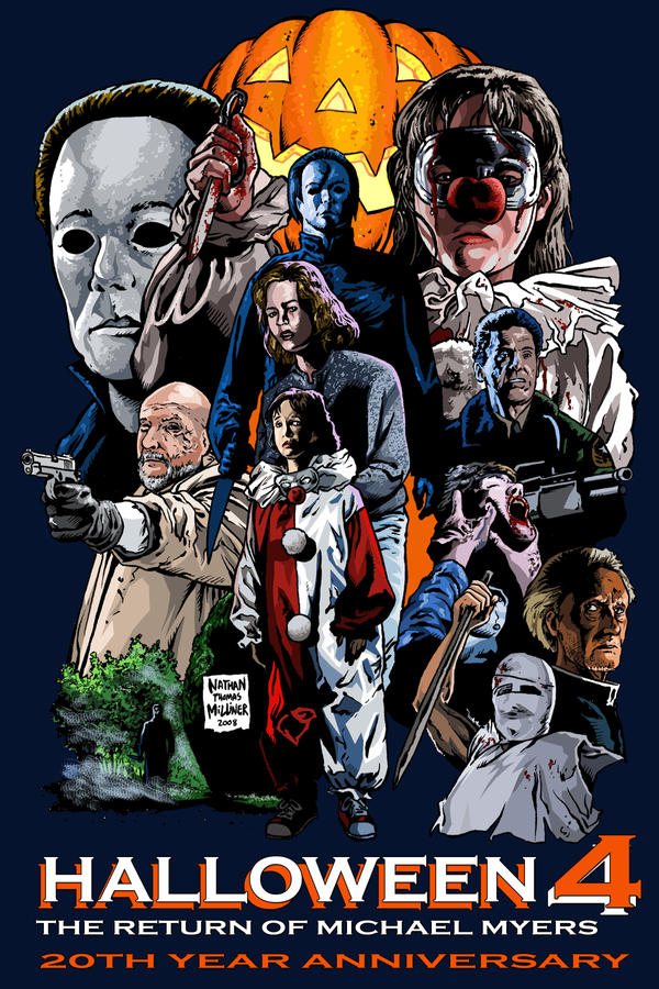 HALLOWEEN 4 twenty years later by MalevolentNate on DeviantArt