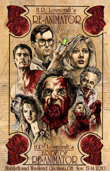 RE-ANIMATOR AND BRIDE OF