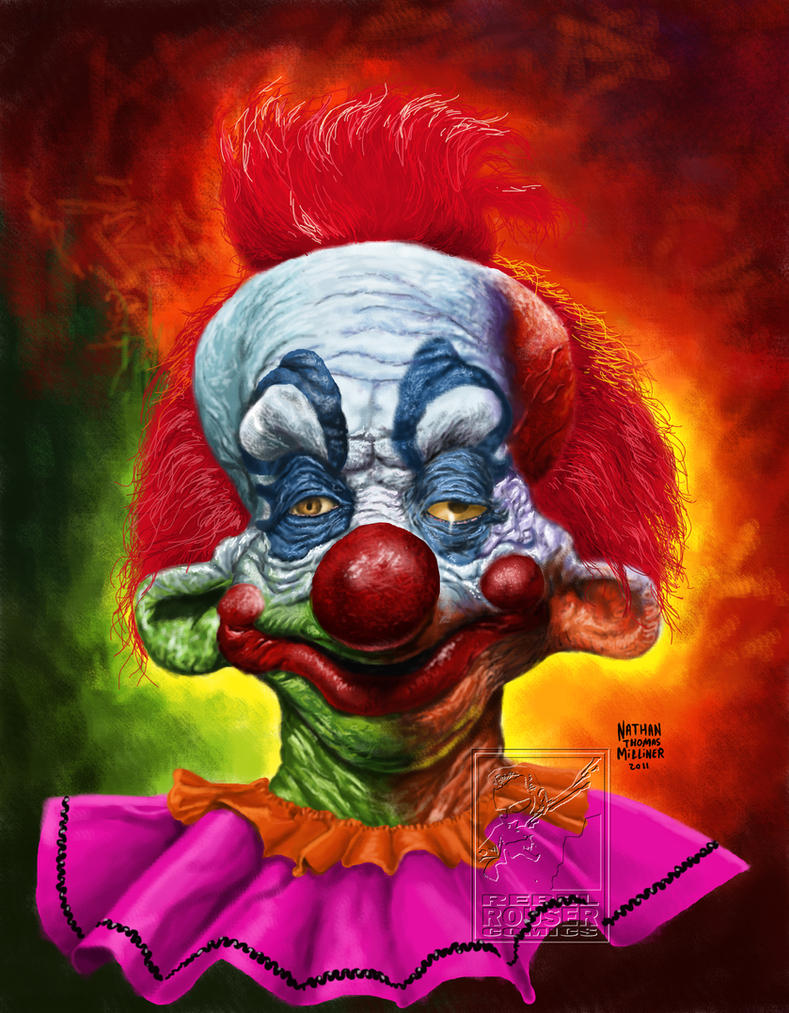 Killer klowns by malevolentnate on deviantart for Space clowns