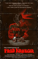 THE CONFESSION OF FRED KRUEGER POSTER #1