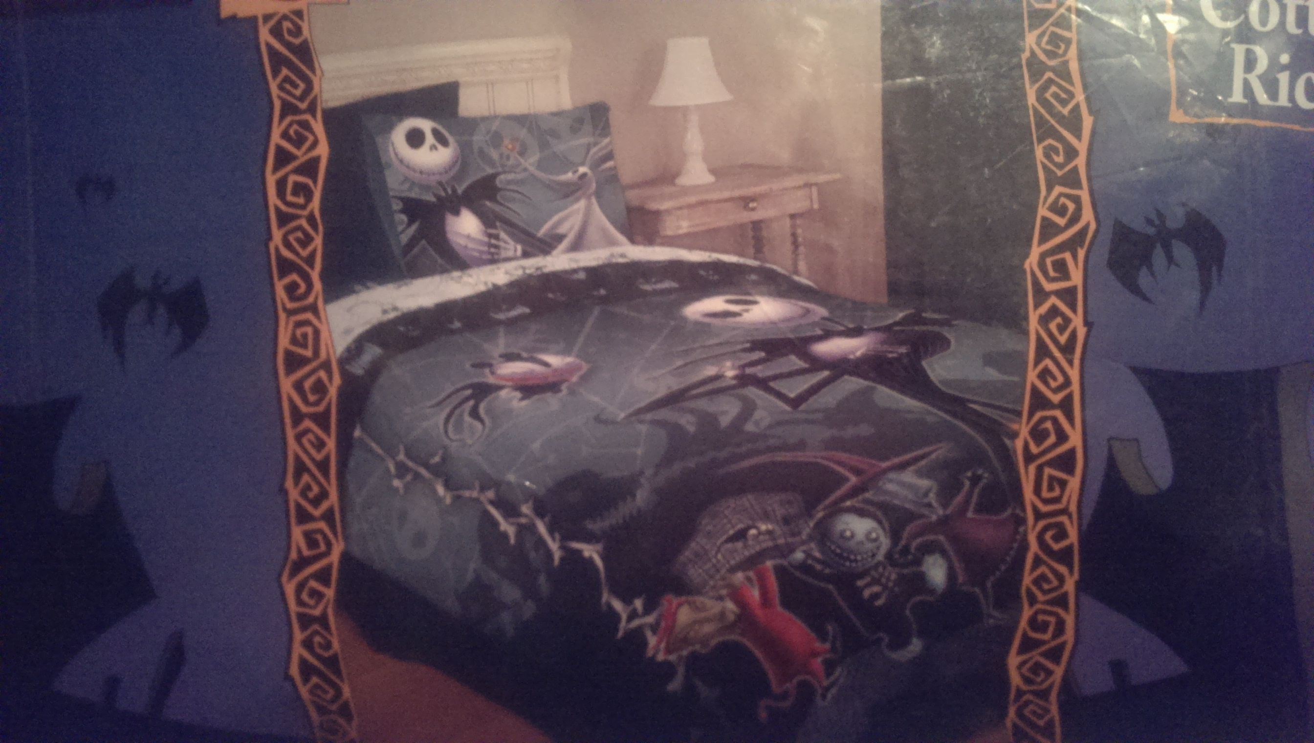 Nightmare Before Christmas Full/Queen Comforter by rainbowthefox on ...