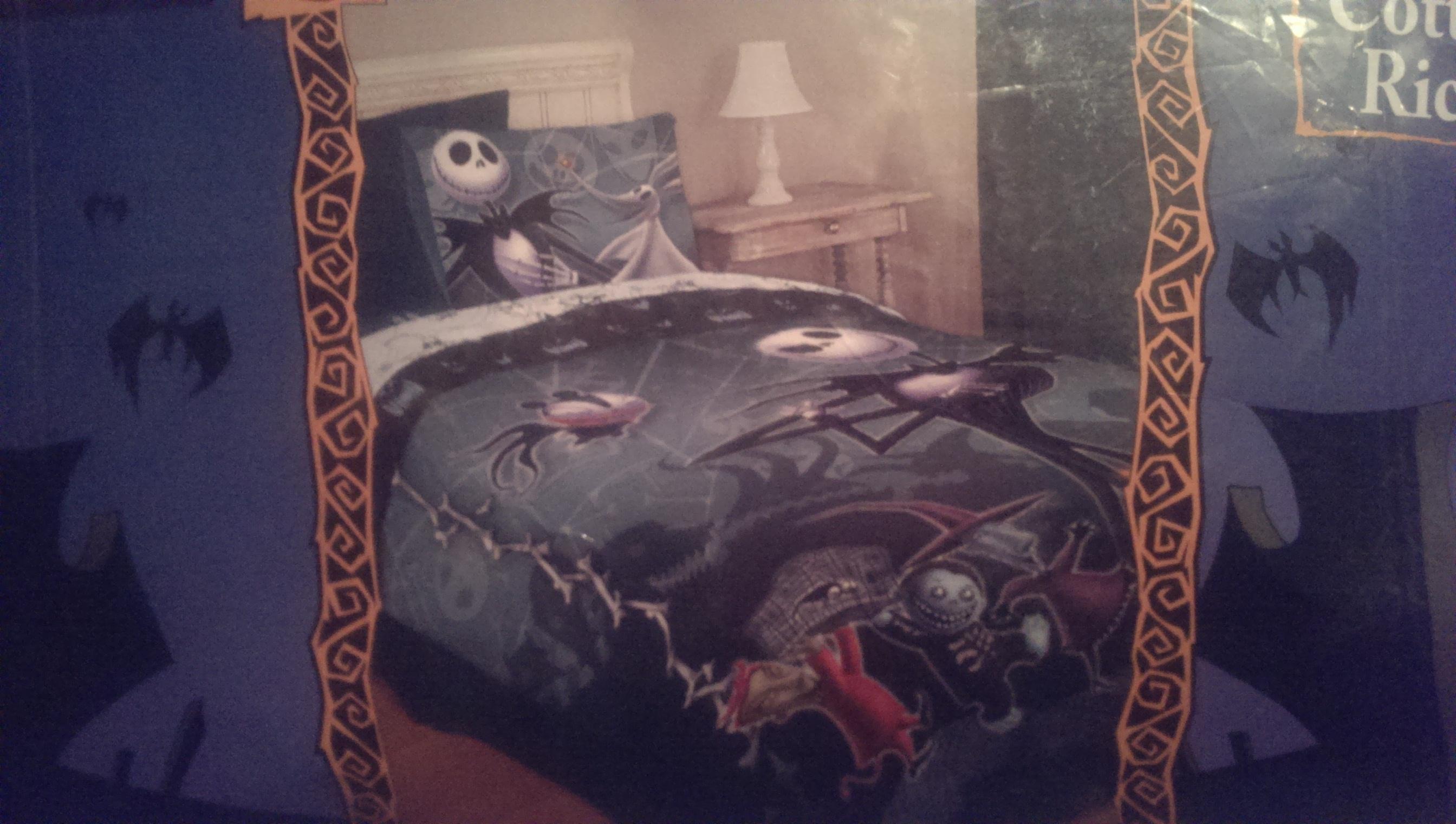 Nightmare Before Christmas Full/Queen Comforter by rainbowthefox ...