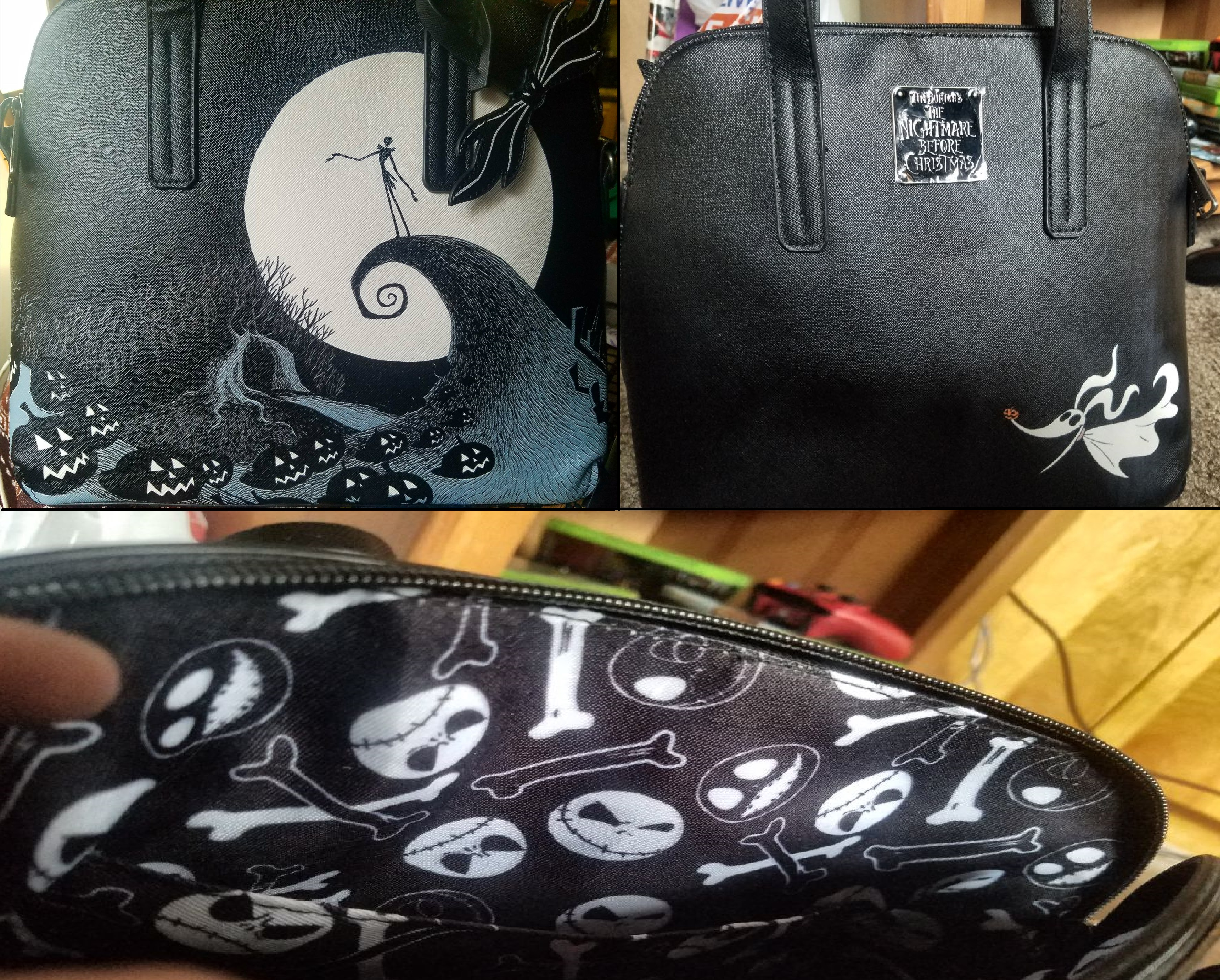 2k17 Present #1: Nightmare Before Christmas Purse by rainbowthefox ...