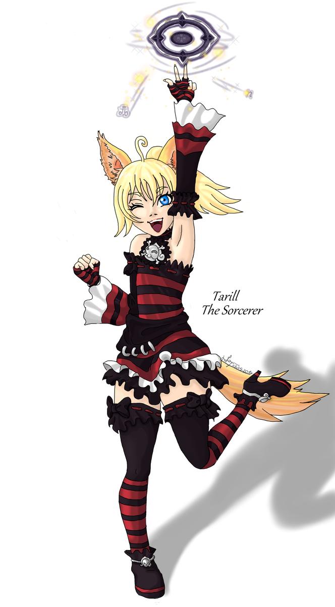 Elin Sorcerer : Tarill by keyko020988