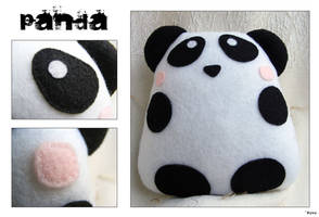 Panda Felt Plush by Kuvu