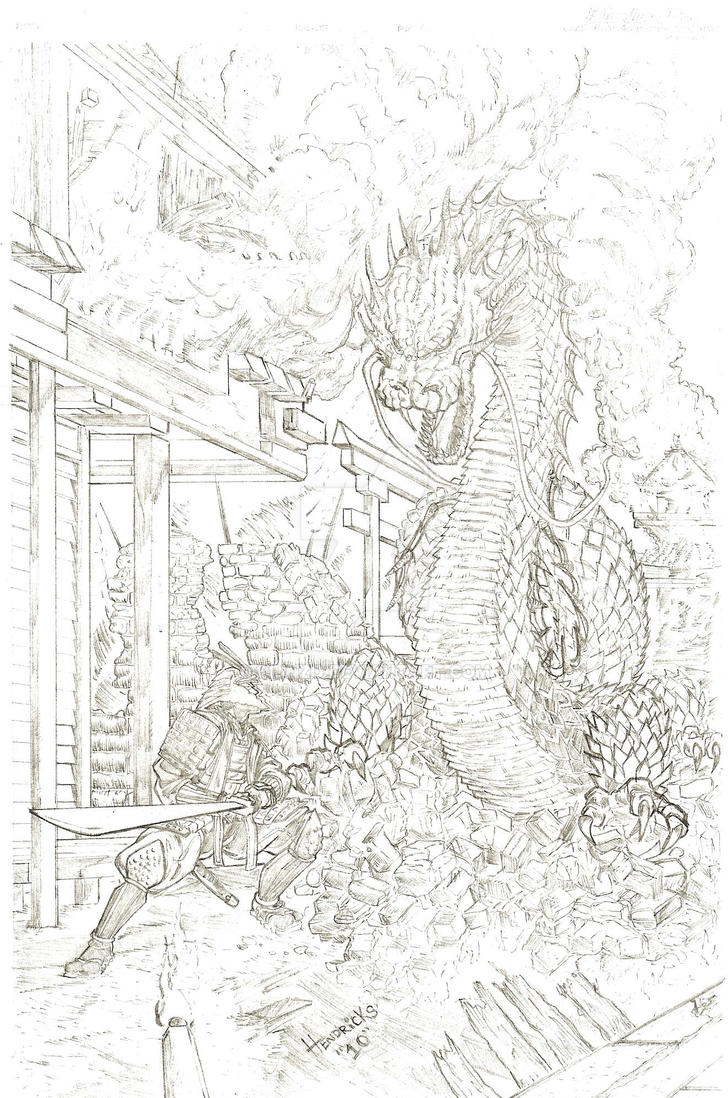 samurai and dragon tango by qiunzo