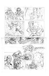 Captain  America Comedian sample page 3 by qiunzo
