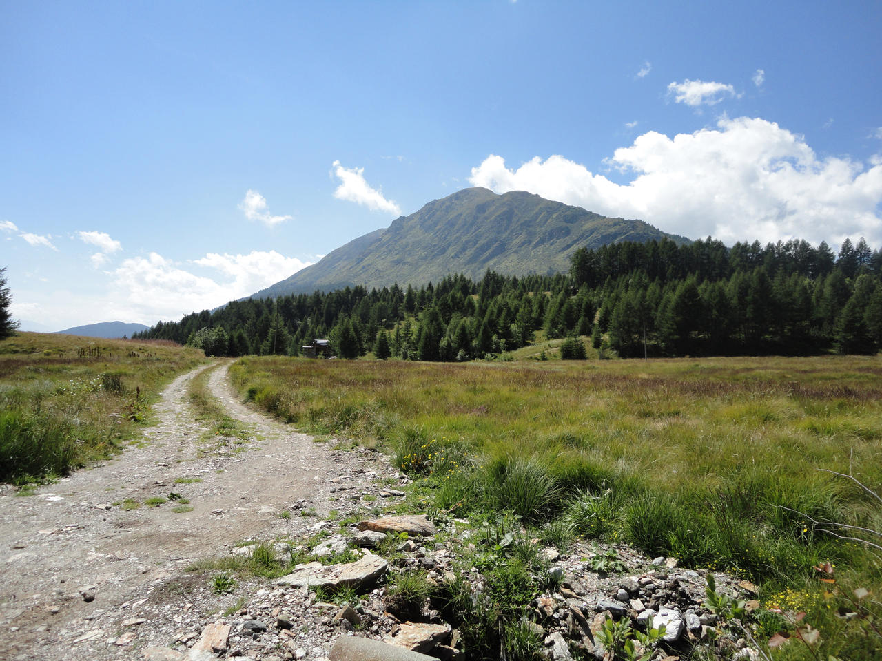 Dirty road on mountains by Simbores