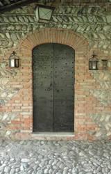 Medieval wood door 01 by Simbores