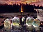 Infinite worlds by Simbores