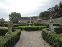 Medieval Garden 30 by Simbores