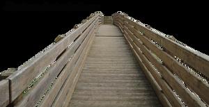 Wood bridge by Simbores