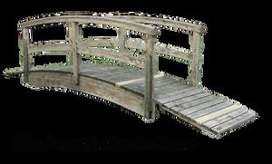 Wood japanese bridge 04 by Simbores