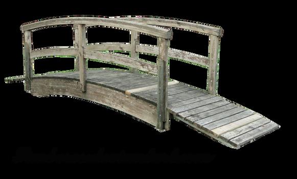 Wood japanese bridge 04