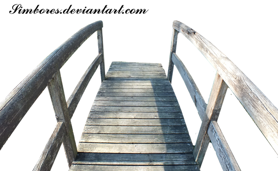 Wood japanese bridge 01