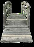 Wood japanese bridge 03