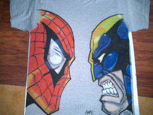WOLVEY SPIDEY : HEAD TO HEAD