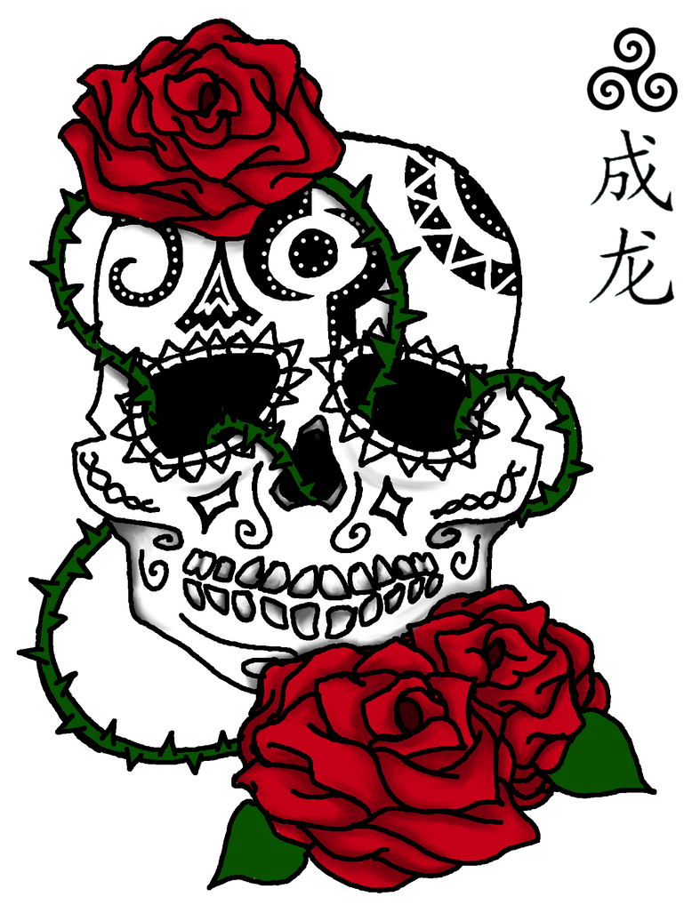 Sugar Skull by xXWorld-DestroyerXx