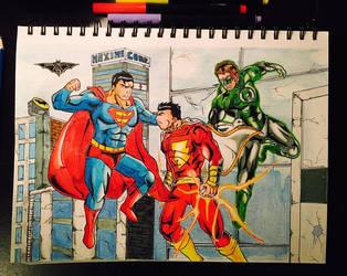DC Universe drawing by Icyryujin