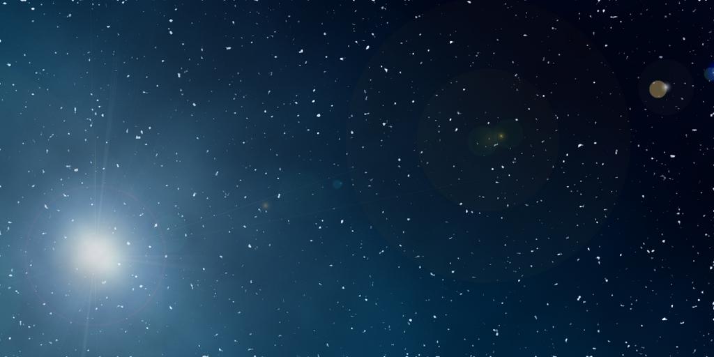 Stars and space by Kida-neechan