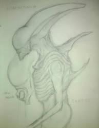 Ultra-neomorph: Alien Fan Design