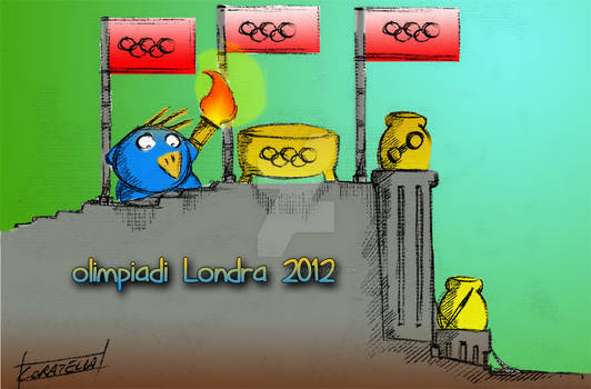 Cippi Olimpiadi 2012 - Cippi torchbearer