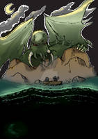 Cthulhu Monster Attack