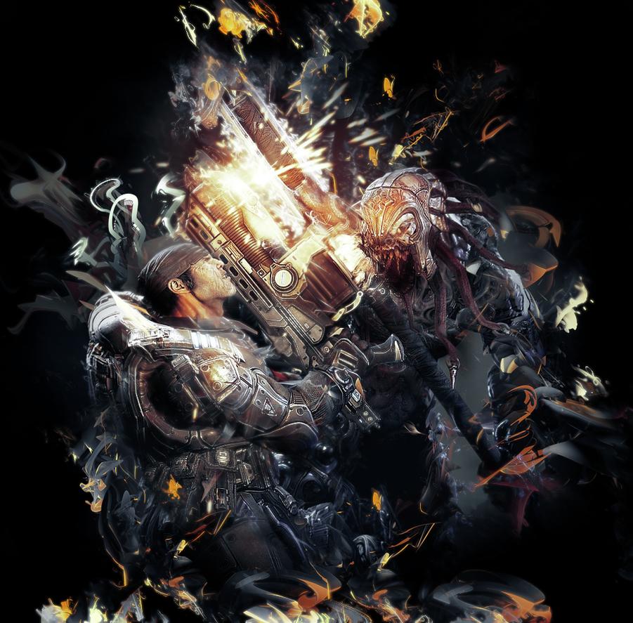 Gears of war 2 by dante2710