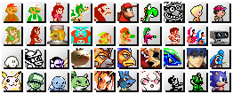 Super Smash Bros Brawl Retro by Cokomon
