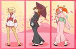 Rune Hunters - Spring Kimonos