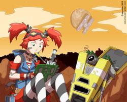 The Cybernetic Schoolgirl by Cokomon