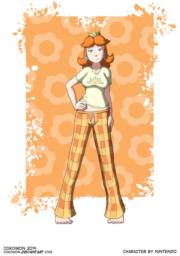 Pin-Up Art - Daisy (Sleepwear Variant)