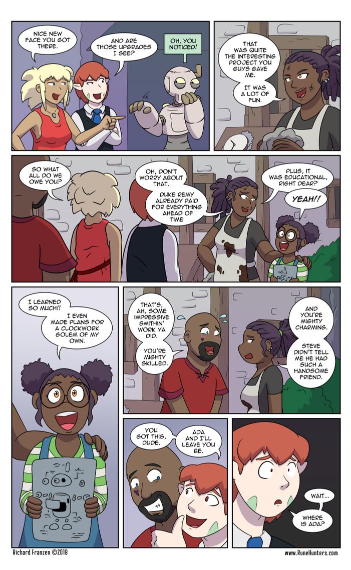 Rune Hunters - Ch. 18 Page 4 by Cokomon