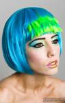Pop Art: Blue