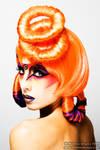 Pop Art: Orange