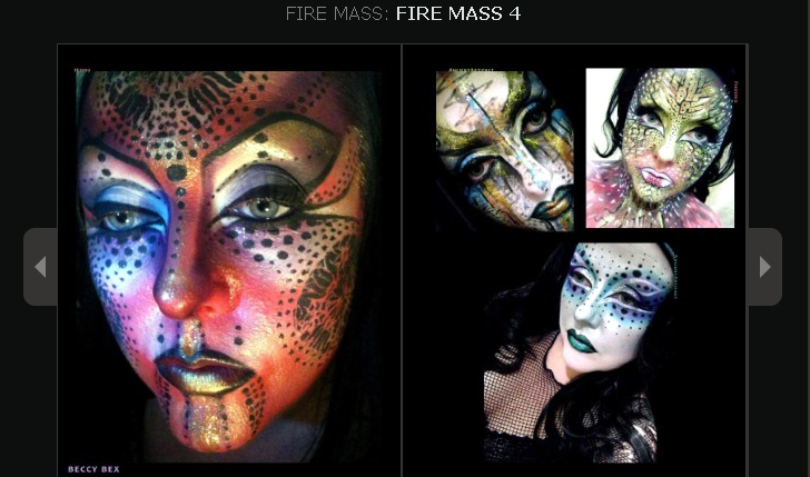 Fire Mass: Issue 4 by BeccyBex