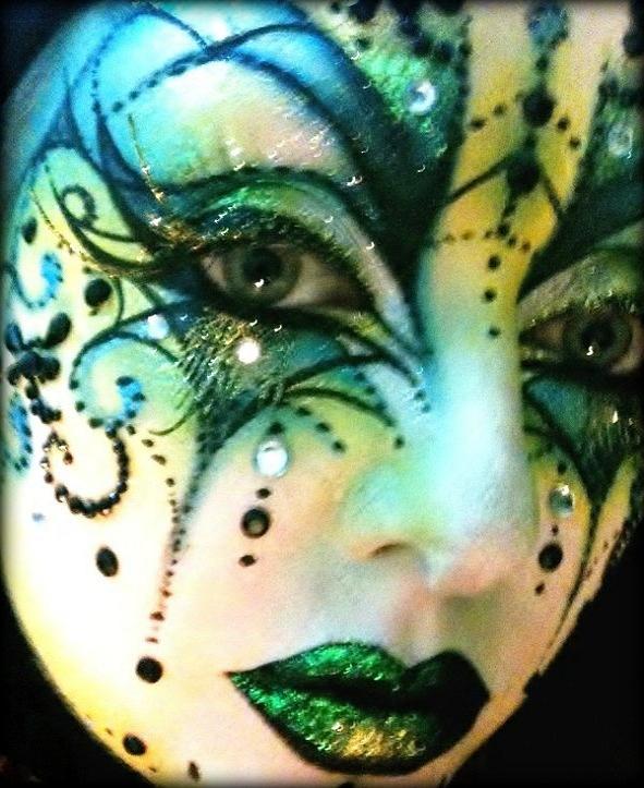 Venetian Mask III by BeccyBex