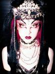 Gothic Vintage Burlesque Ball Costume