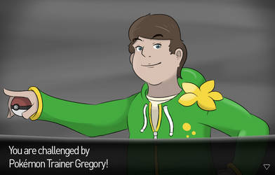 Trainer Gregory would like to battle! by MrKlonoa