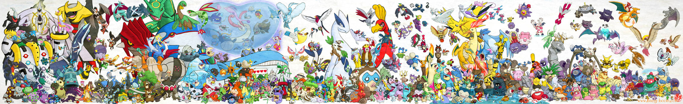 493 Pokemon Assemble